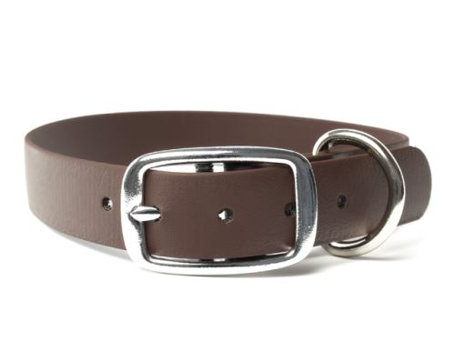 Biothane_collar_deluxe_brown_small_web