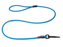 Biothane_round_leash_with_HG_light_blue_black_snap_hook_small_web