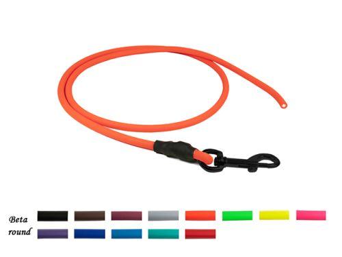 Biothane_round_leash_neon_orange_black_snap_hook_small_web