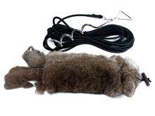 "Mystique® ""Running rabbit"" s kožešinou"