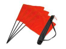 "Mystique® ""Square Flag"" Set oranžový 4ks.+ taška"