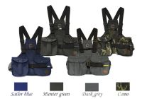 Mystique® Dummy vesta Trainer námorní modrá, lovecká zelená, tmavě šedá a kamufláž