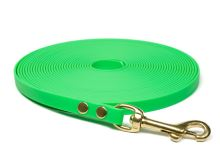 Biothane_tracking_leash_13mm_solid_brass_neon_green_small_web